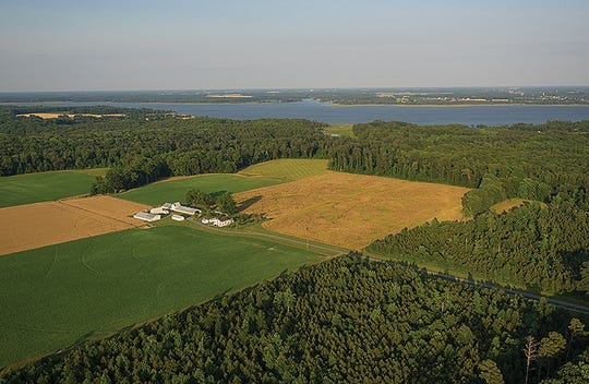 Farmland contributes a trillion dollars a year to the U.S. economy.