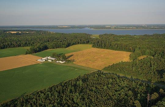 Farmland contributes a trillion dollars a year to the U.S. economy.