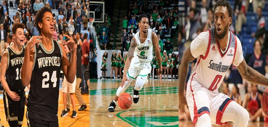 The trio of Kory Holden, Jorden Duffy and Keve Aluma have suited up on the Division I college basketball stage.