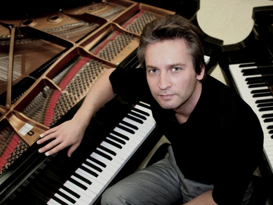 Andrey Ponochevny will perform 3 p.m. Jan. 27 at Emmett Hook Center in downtown Shreveport.