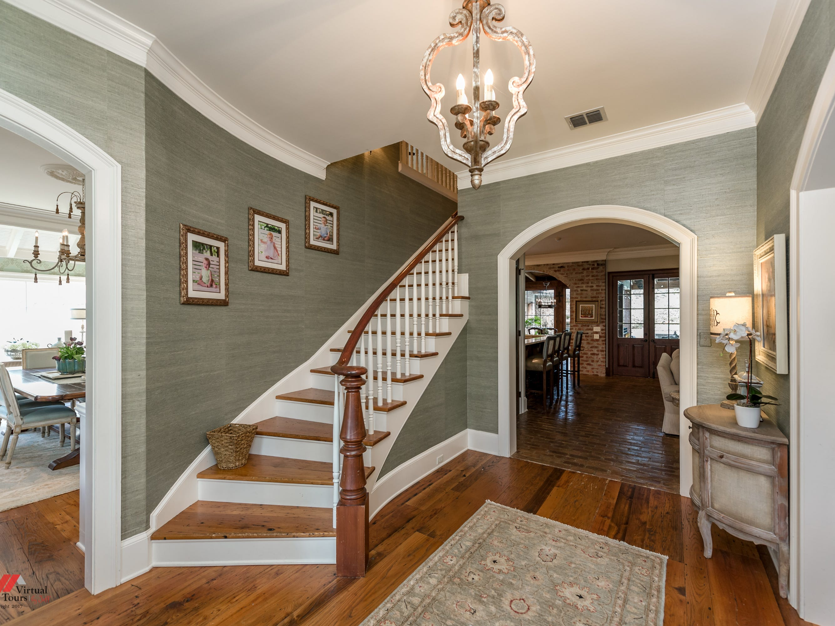 7117 Gilbert Drive,   Shreveport  Price: $1,650,000  Details: 5 bedrooms, 5 bathrooms, 6,466 square feet  Featuring: Featured on Parade of Homes in Spring Lake, nine antique French door sets salvaged from a New Orleans hotel, resort-like outdoor living area.   Contact: Lisa Hargrove, 393-1003