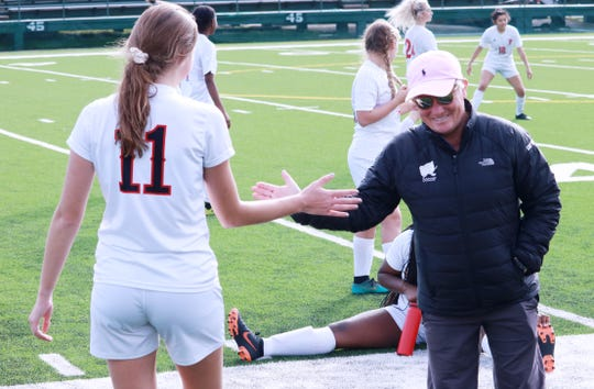 Legendary soccer coach Shelley McMillian came out of retirement during the middle of the season to help the Parkway Panthers.