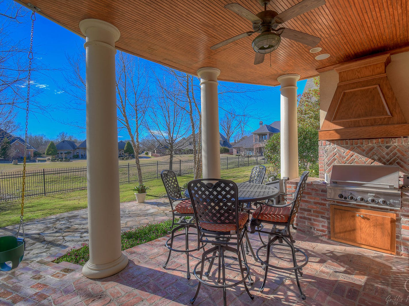 320 Bridgepoint Circle,   Bossier City  Price: $795,000  Details: 5 bedrooms, 4 bathrooms, 4,518 square feet  Special features: Magnificent Stonebridge home at the #18 tee box, indoor and outdoor furniture included in the sale.  Contact: Mary Jo Gray,  469-6867
