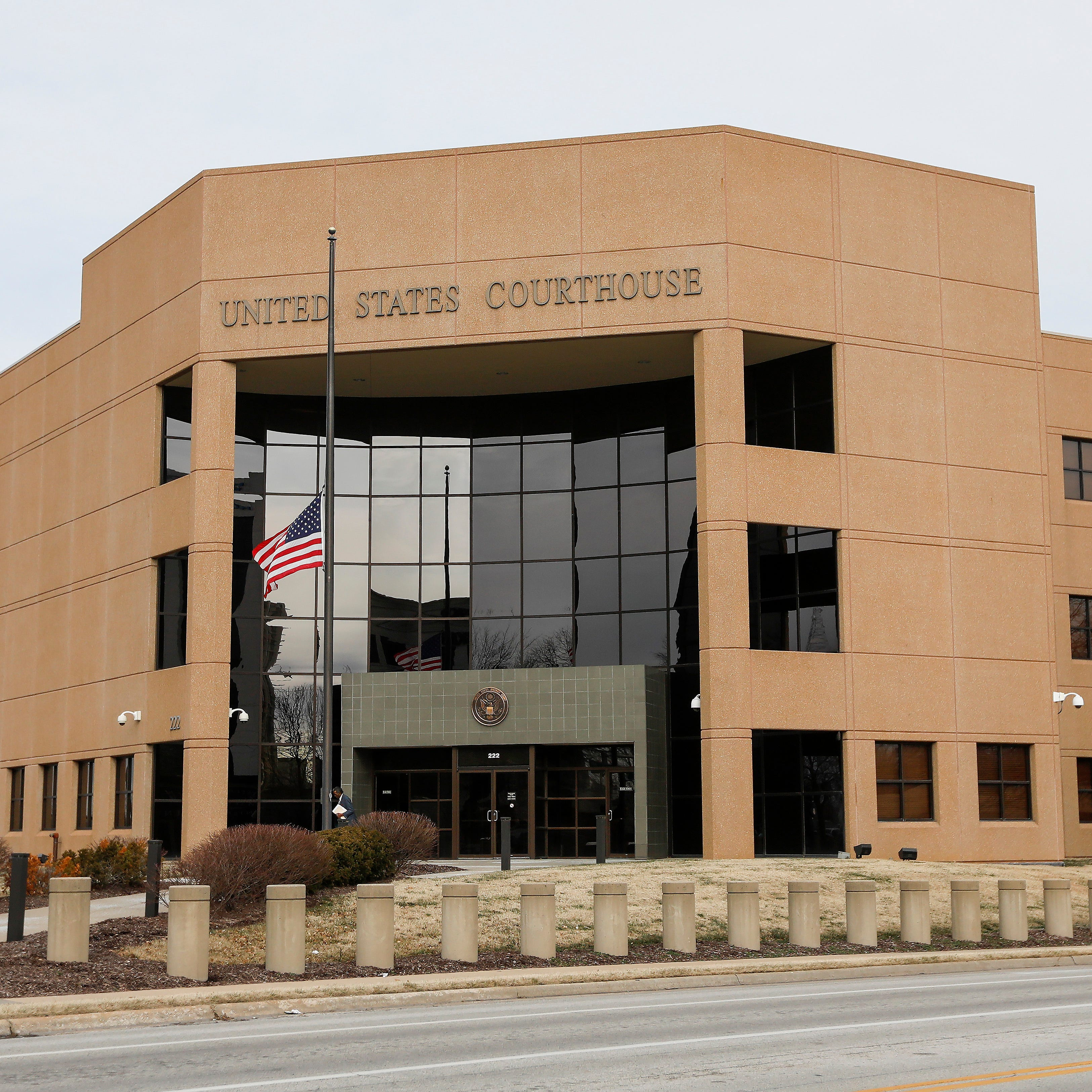 The United States Federal Courthouse located at 222 E St. Louis St.