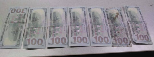 Hundred dollar bills with Chinese writing on them have been circulating in Franklin County where law enforcement is making sure to let businesses know they are fake.