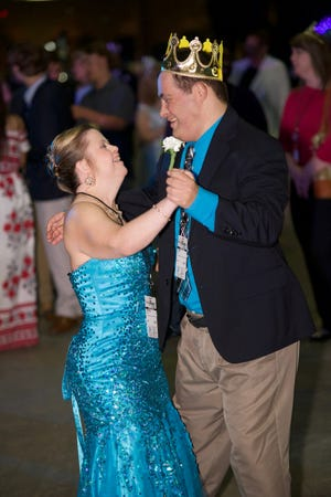 Dancers enjoy last year's Night to Shine. Once again Tallahassee will participate by hosting the 5th Annual Night to Shine on Feb. 8 at The Centre of Tallahassee.
