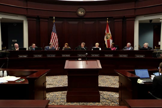 The Florida Commission on Ethics meets Friday at the 1st District Court of Appeal in Tallahassee.