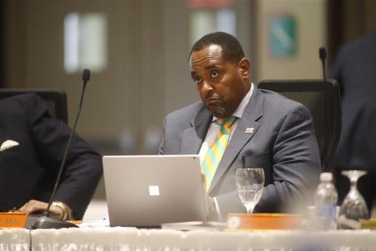 Florida A&M Board of Trustees member Harold Mills