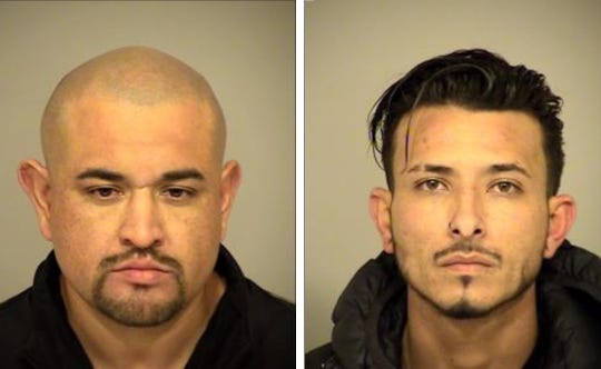 Alonso Rodriguez, left, 37, and Gabriel Magno, right, 29.