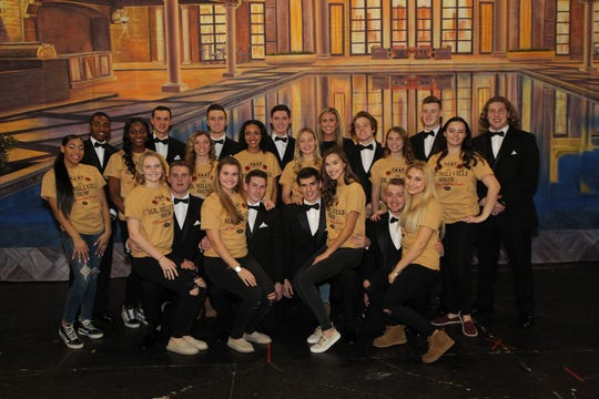 This year's Mr. Millville 2019 contestants and their escorts are pictured at the contest.