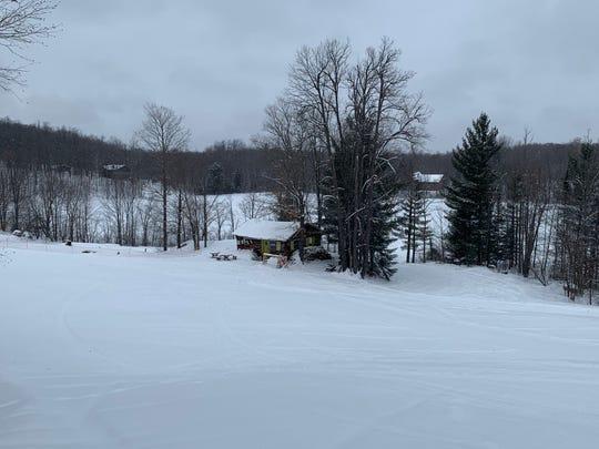 The Wine Hut at Whitecap Mountains ski resort.