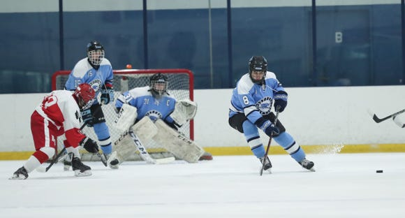Suffern goalie Mike Halper anchors a defensive unit that ranks among the stingiest in New York State.