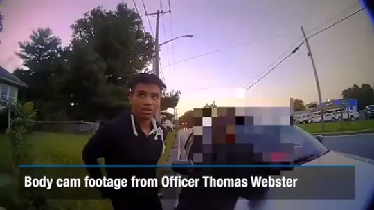 Body cam footage released by the Town of Greensboro shows the arrest made by former Dover police officer Thomas Webster IV that ended in the death of Anton Black.