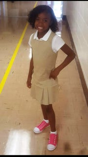 Germani Truitt-Handy, a third-grader at North Laurel Elementary School, was 9 years old when she was hit by a car and died from her injuries. She was out getting the mail at the time of the crash.