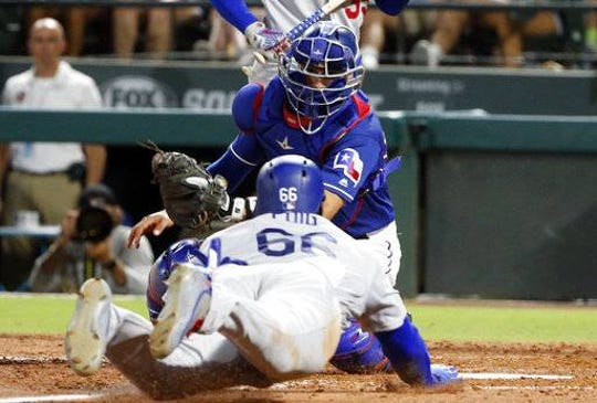 Texas Rangers super utilityman Isiah Kiner-Falefa is expecting to play catcher more in his second big-league season.