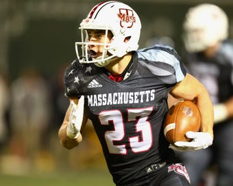 UMass receiver Andy Isabella may not fit the bill of a prototypical WR, but he's making some waves at the Senior Bowl and has his sights set on the NFL Draft.