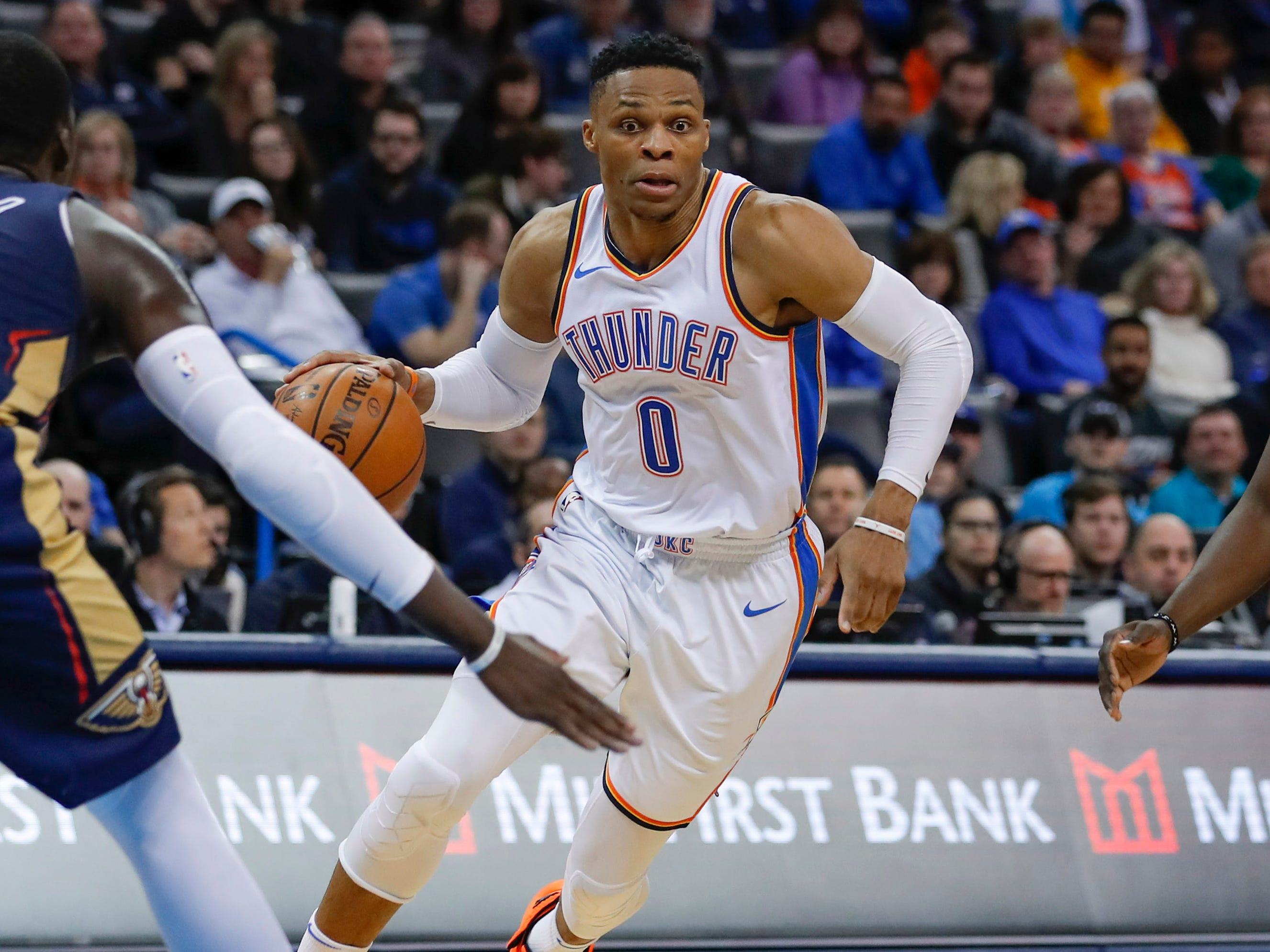 61. Russell Westbrook, Thunder (Jan. 24): 23 points, 17 rebounds, 16 assists in 122-116 win over Pelicans (15th of season).