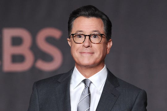 Colbert makes a State of the Union plea for Trump