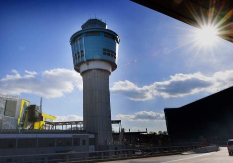 Staffing issues related to the government slowdown caused delays at New York's LaGuardia Airport.