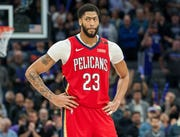 Pelicans star Anthony Davis has averaged 29.3 points and 13.3 rebounds per game this season.