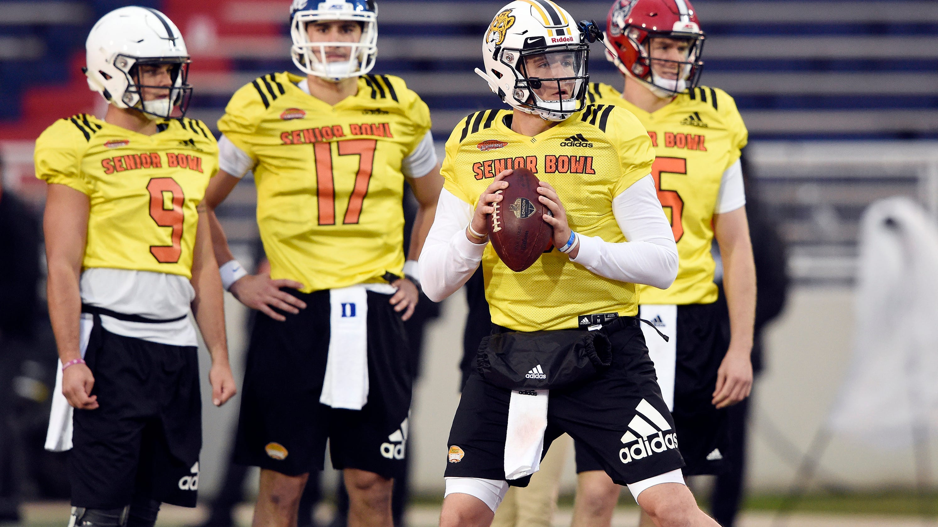 Senior Bowl  Five things we learned from NFL draft prospects in practice f18292c3f