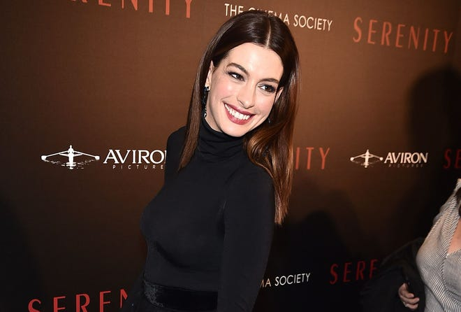 """Actress Anne Hathaway confirmed there's a script for a third installment of the beloved family movies franchise """"The Princess Diaries."""""""