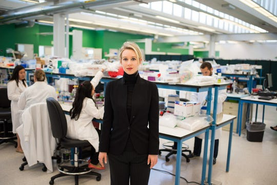 "Steve Jobs admirer Elizabeth Holmes is the subject of the documentary ""The Inventor,"" which will premiere on HBO this year."