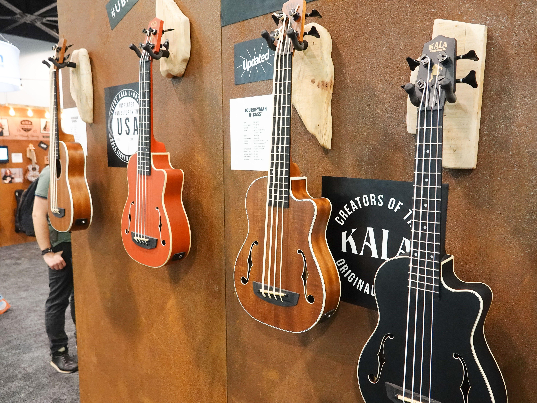 Ukele basses from Kala
