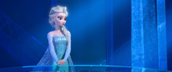 "Father said his son thinks of Elsa as a ""superhero."""