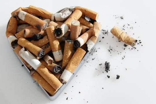 Cutting out cigarettes is good for your heart, even if you gain weight.