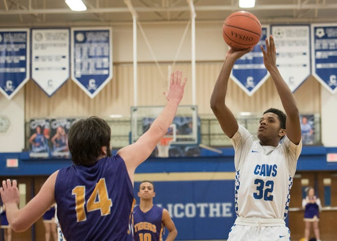 The Chillicothe Cavaliers' Jayvon Maughmer won the Frontier Athletic Conference Player of the Year award.