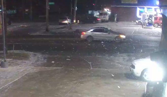 Detroit Police are searching for this car or its driver in connection with the fatal shooting of a 3-year-old boy in Detroit on Thursday, Jan. 24, 2019.