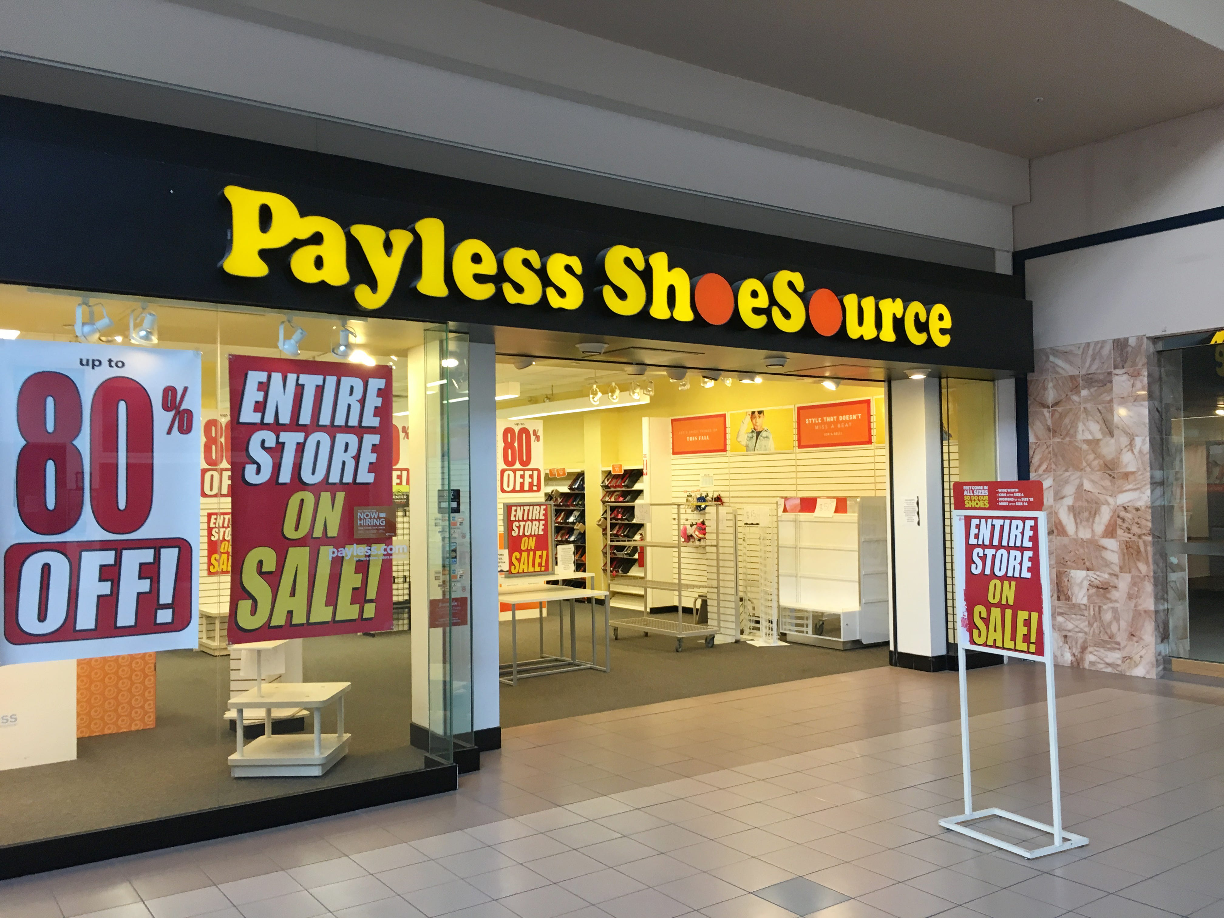 payless north point mall