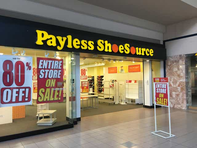 Payless Shoesource Is Closing S In