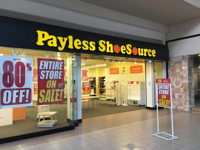 99b45c83b Payless Shoesource to close all of its stores
