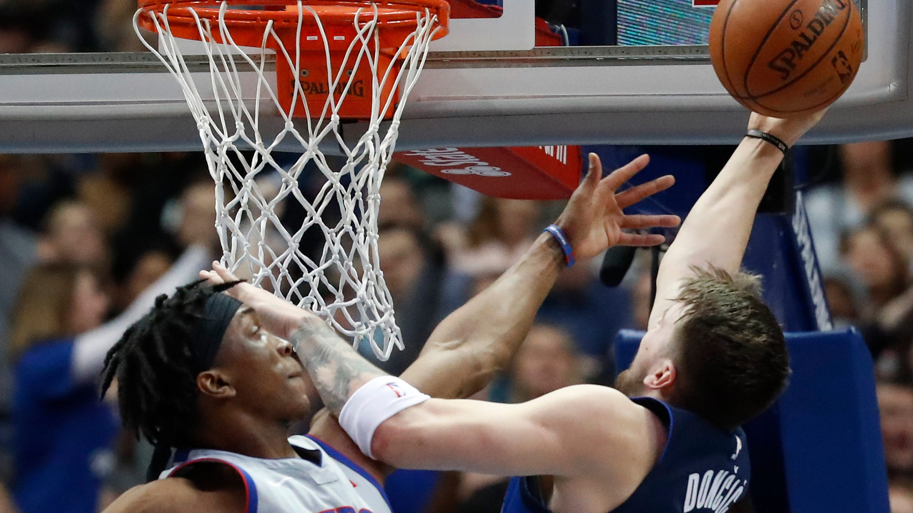 on sale a059a b3f3a Why Pistons  Stanley Johnson got big minutes vs. Luka Doncic