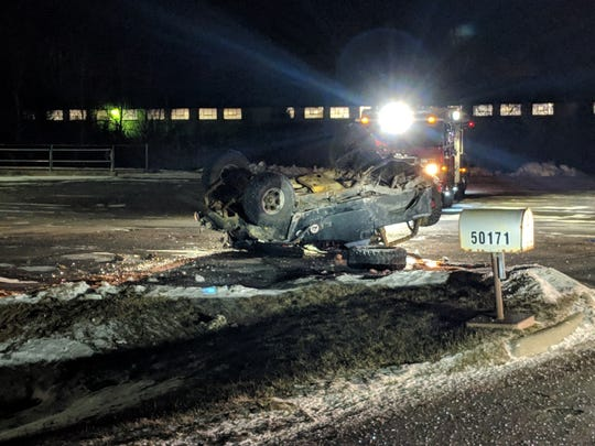 A rollover car accident occurred in Chesterfield Jan. 26, leaving a passenger dead and the driver seriously injured.
