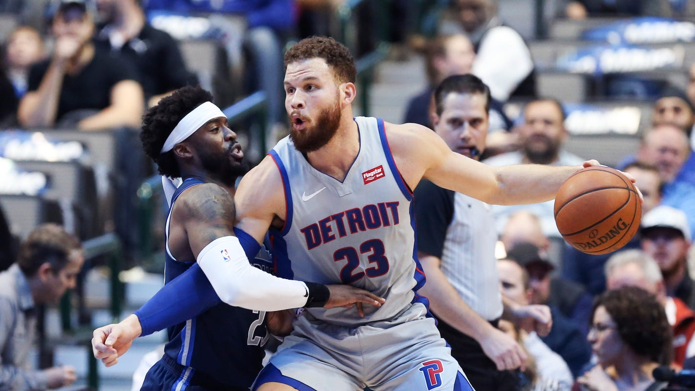 competitive price a5fc4 974e5 Detroit Pistons  Blake Griffin clears air about Reggie Jackcon