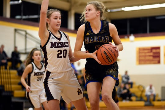 Megan Kraus and Birmingham Marian are ranked No. 5 in the state and No. 2 in the North by The Detroit News.
