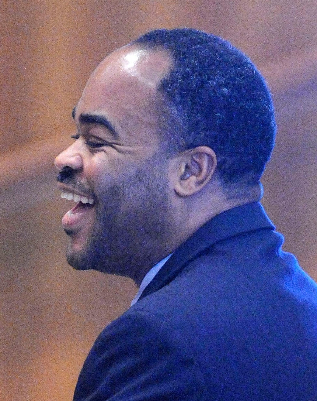 Detroit Police Cmdr. Johnny Thomas in 2016