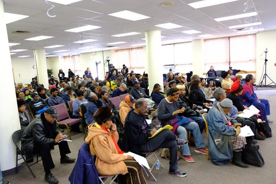 People of Detroit showed up Saturday for the Detroit City Charter Revision meeting on the city's east side.
