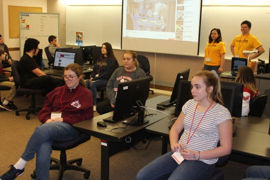 Around 30 students, ages 13-18, from eight area counties came to Terra State Community College this weekend for the second annual Code A Thon. The annual events promotes computer coding as a possible career for students.