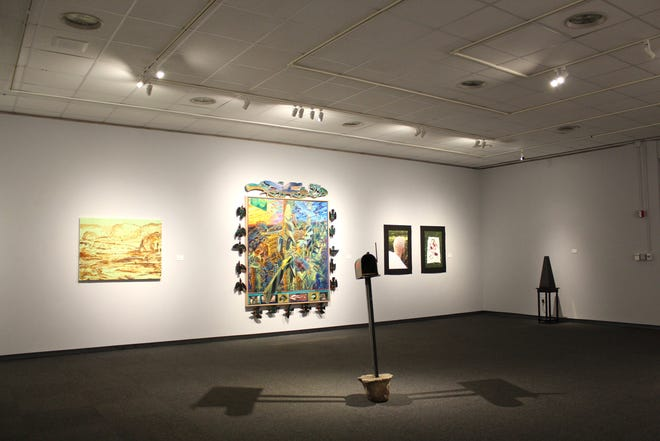 The Museum of Fine Arts hosted three separate exhibitions throughout January.