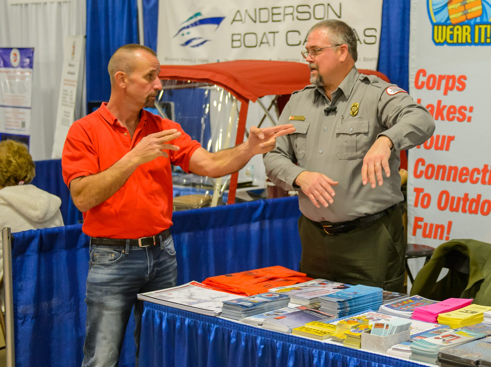 2019 Upstate SC Boat Show at the Greenville Convention Center on Saturday, January 26, 2019.
