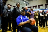 Legendary Riverside coach Louie Golden honored by former players