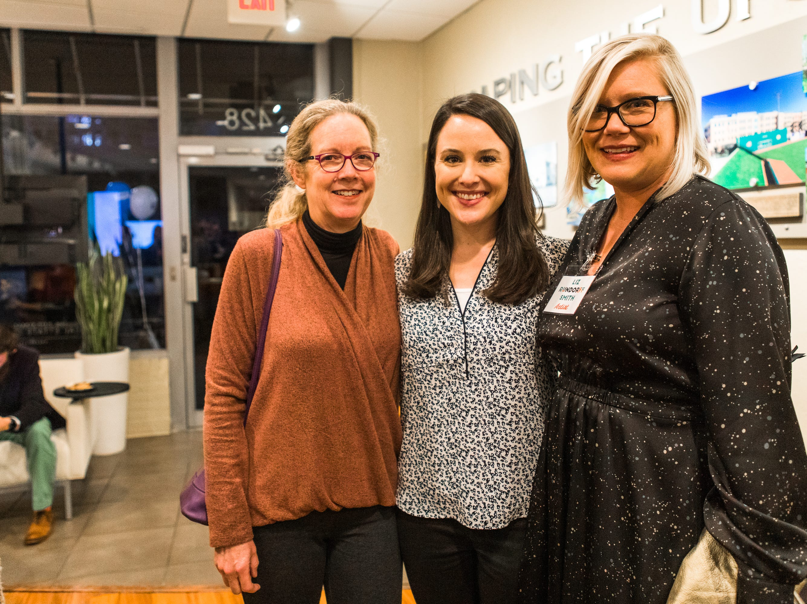 Coldwell Banker Caine hosted an exhibit opening for its next resident artist, Liz Rundorff Smith. The event was held at the Main Street Real Estate Gallery and guests were invited to view Smith's creative work and enjoy refreshments. The featured artist currently serves as Art School Director for the Greenville Center for Creative Arts while continuing to exhibit her work across the nation.