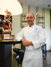 Pastry Chef Elsayed Elakhnawy in The Deli at the Hyatt Regency Guam on Jan. 26, 2019.
