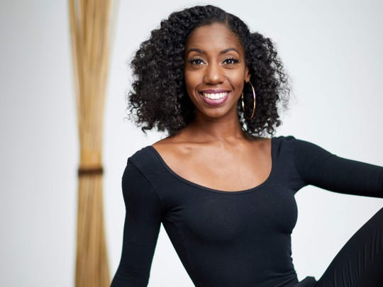 """Dancer Lalah Hazelwood is a featured artist for this year's """"Art & Soul"""" celebration at Indianapolis Artsgarden."""