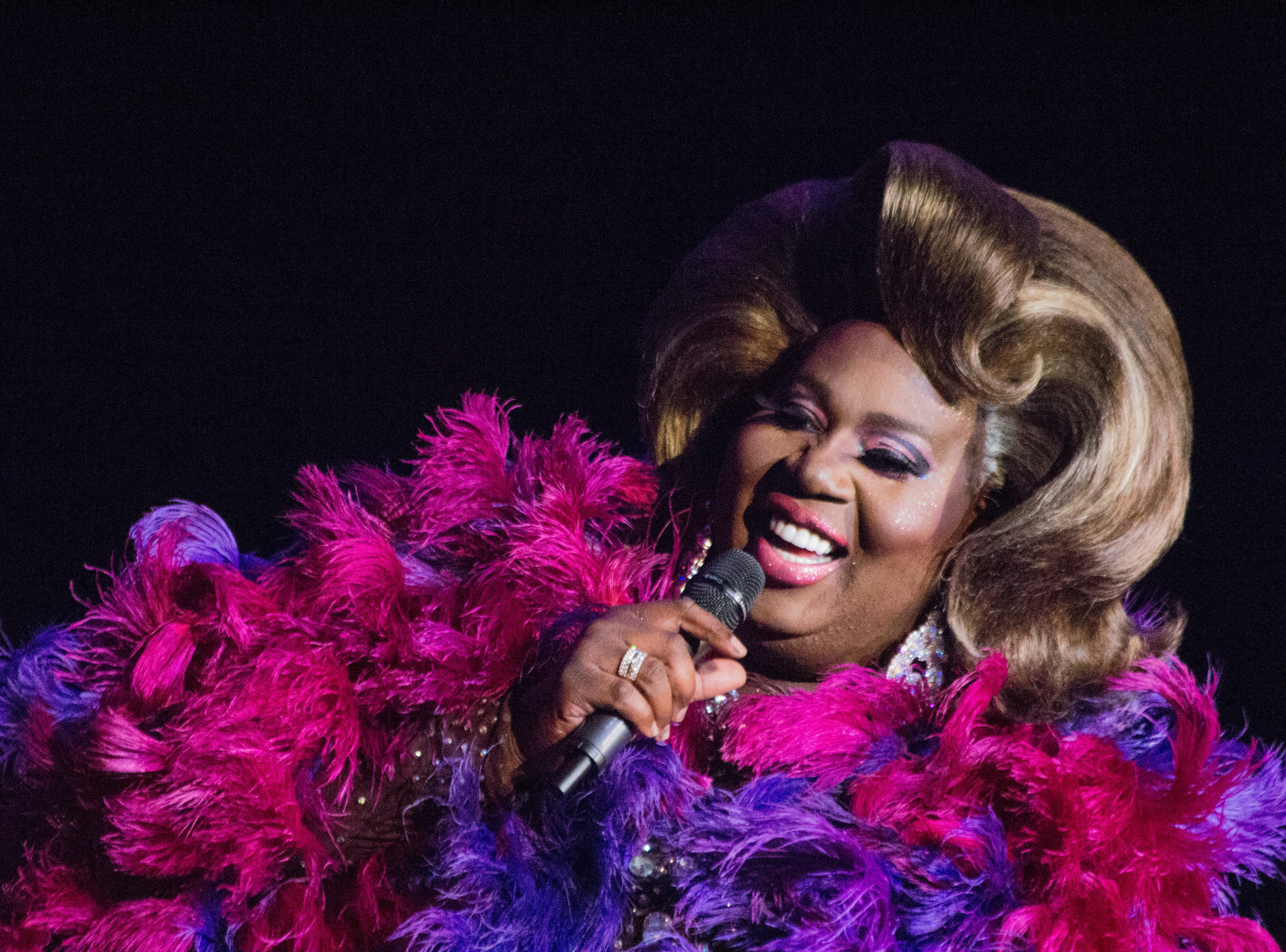 RuPaul's Drag Race star Latrice Royale at the BIjou Theatre on Jan. 5, 2019.