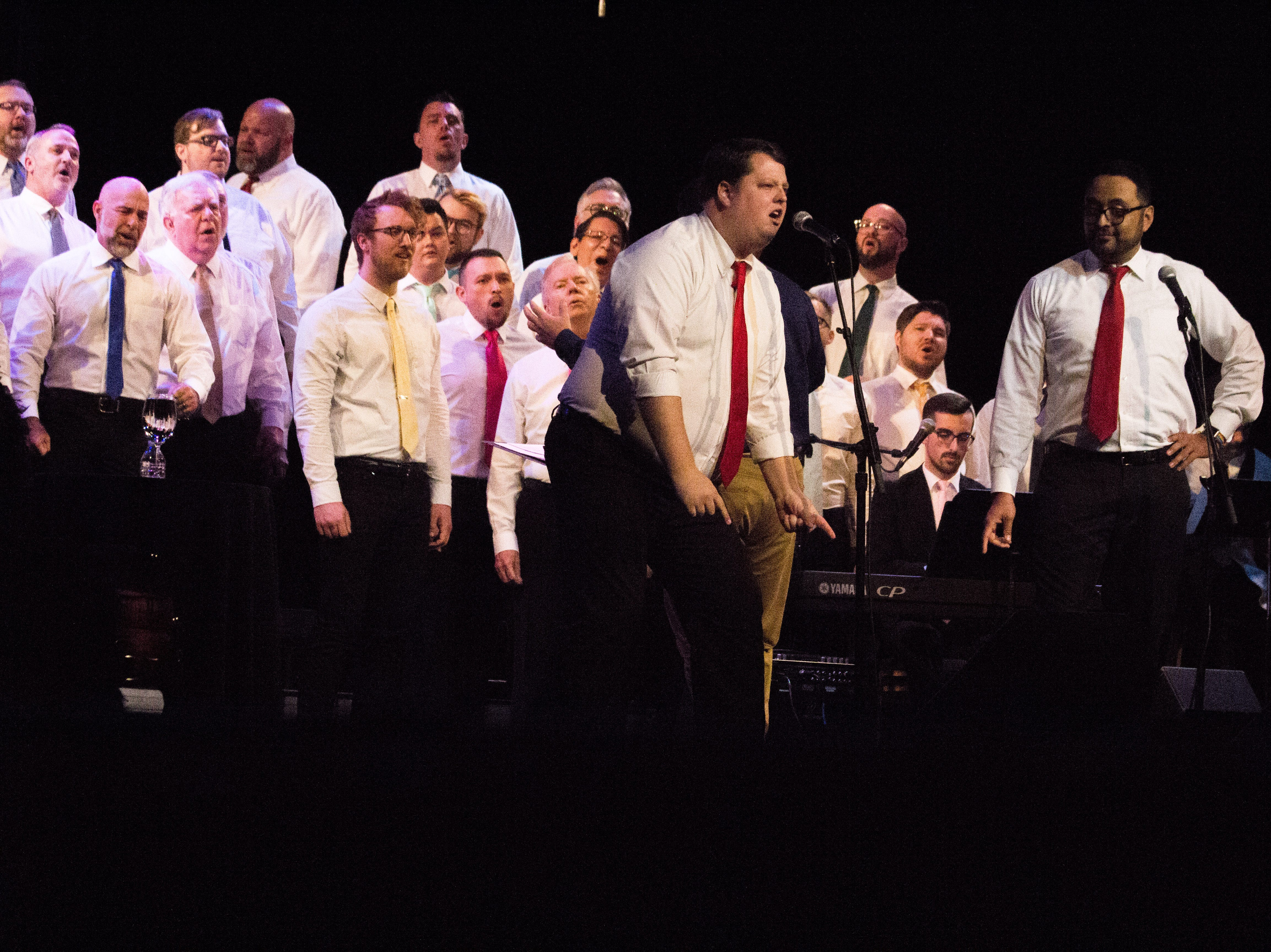 The Knoxville Gay Men's Chorus opens for Latrice Royale at the BIjou Theatre on Jan. 5, 2019.